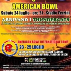 American Bowl 2010 – La prima edizione un successo!